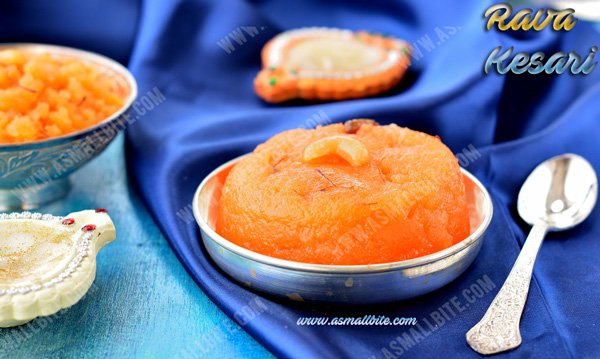 Rava Kesari Recipe 3