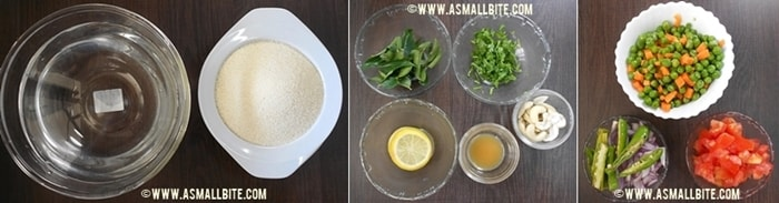 Rava Kichadi Recipe Steps1