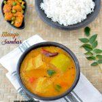 Mango Sambar Recipe | Raw Mango Sambar Recipe