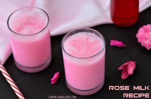 Rose Milk Recipe 1