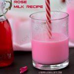Rose Milk Recipe 3
