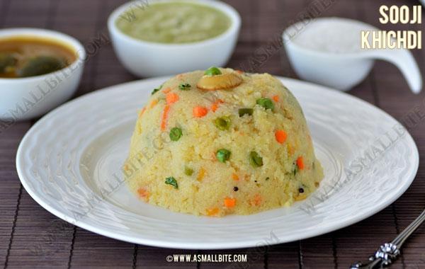 Sooji Khichdi Recipe 1
