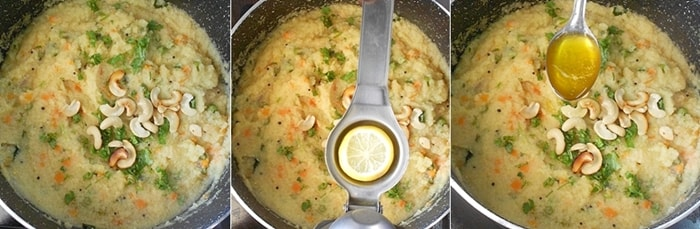 Sooji Khichdi Recipe Steps7