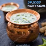 Spiced Buttermilk Recipe 1