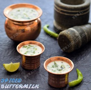 Spiced Buttermilk Recipe