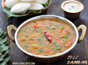Instant Sambar for Idli