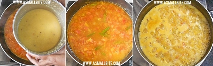 Instant Sambar for Idli Steps5