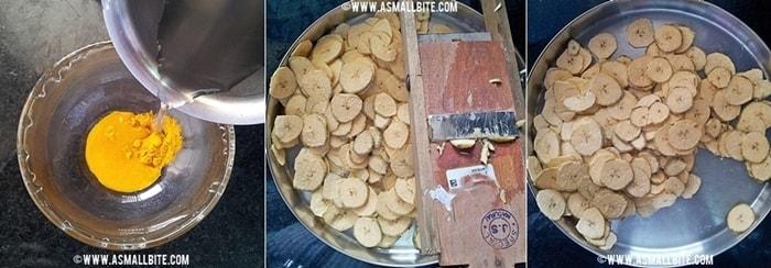 Kerala Nendran Banana Chips Steps4