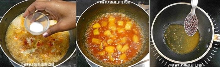Maanga Pachadi Recipe Steps4