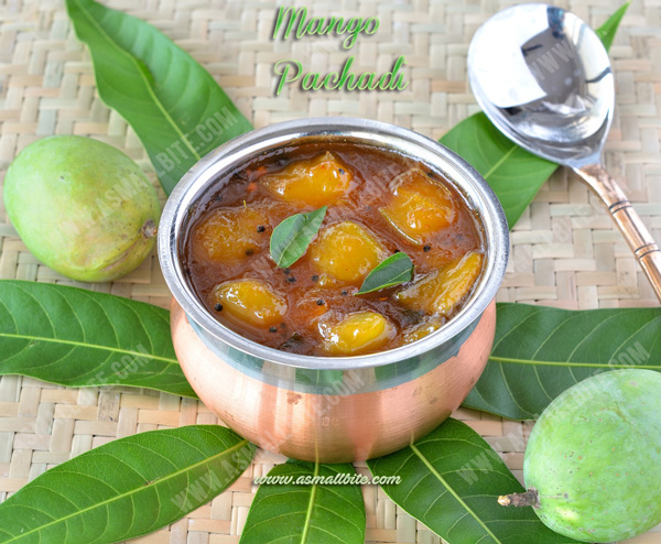 Mango Pachadi Recipe | Maanga Pachadi