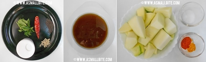 Mango Pachadi Recipe Steps1