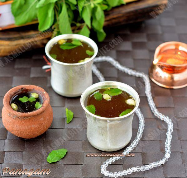 Panakam Recipe   Panagam   Rama Navami Recipes