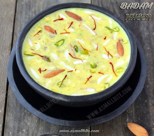 Almond Kheer Recipe 1