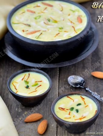 Badam Kheer Recipe | Almond Kheer Recipe