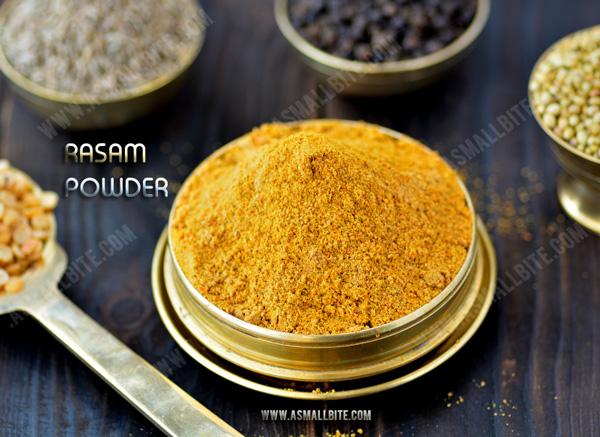 Homemade Rasam Powder (Podi) Recipe 2