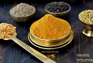 Homemade Rasam Powder (Podi) Recipe