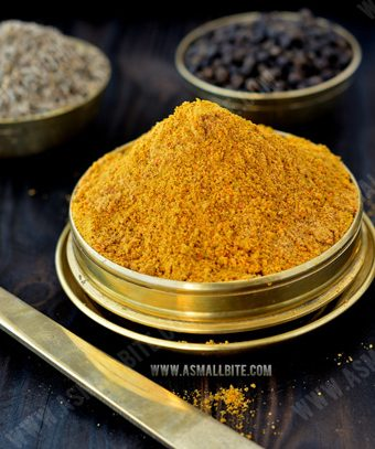 Homemade Rasam Powder (Podi) Recipe