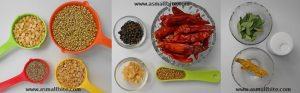 Homemade Rasam Powder(Podi) Recipe Steps 1