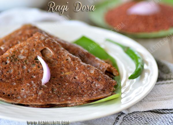 Instant Ragi Dosa Recipe 1