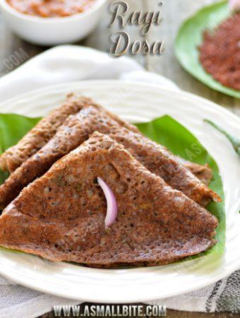 Instant Ragi Dosa Recipe | Ragi Dosa