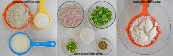Instant Ragi Dosa Recipe Steps 1