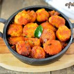 Arbi Fry Recipe | Cheppankizhangu Varuval | Taro Root Roast