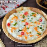 Barnyard Millet Curd Rice | Kuthiraivali Thayir Sadam Recipe