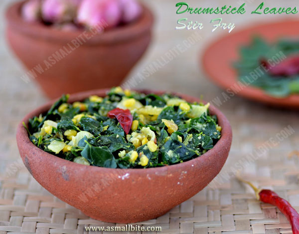 Murungai Keerai Poriyal Recipe | Drumstick Leaves Stir Fry