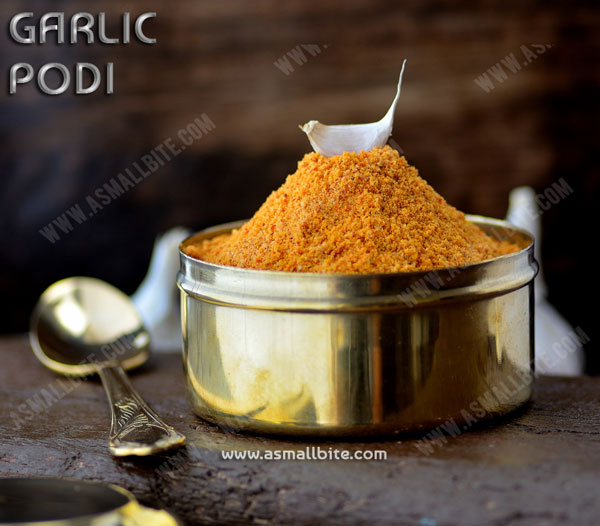 Garlic Podi Recipe 1