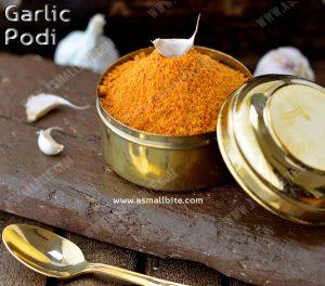 Garlic Podi Recipe