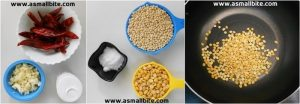 Garlic Podi Recipe Steps1