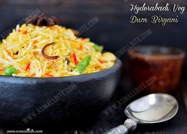 Hyderabadi Veg Dum Biryani Recipe