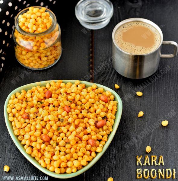 Kara Boondi Recipe | Kara Boondhi