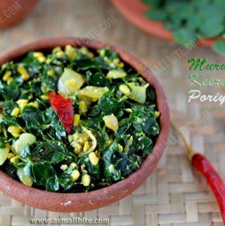 Murungai Keerai Poriyal Recipe 1