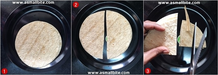 Chapati Noodles Recipe Steps1