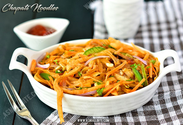 Chapati Noodles Recipe