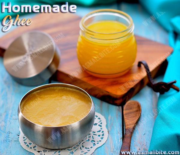 Homemade Ghee Recipe 1