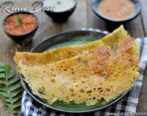 How to make Rava Dosa