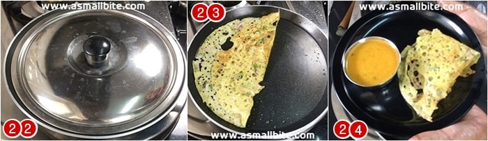 How to make Rava Dosa steps8