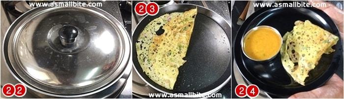 How to make Rava Dosa steps8