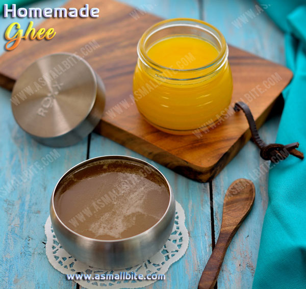 How to make ghee from butter 1