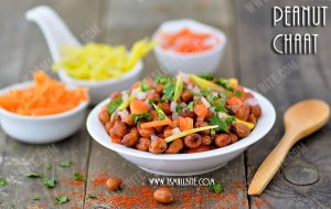 How to make Peanut Chaat