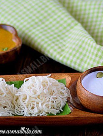 Idiyappam Recipe | Idiyappam with rice flour