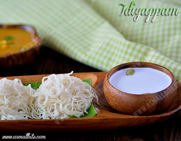 Idiyappam with Rice flour 1