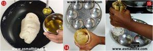 Idiyappam with Rice flour Steps5
