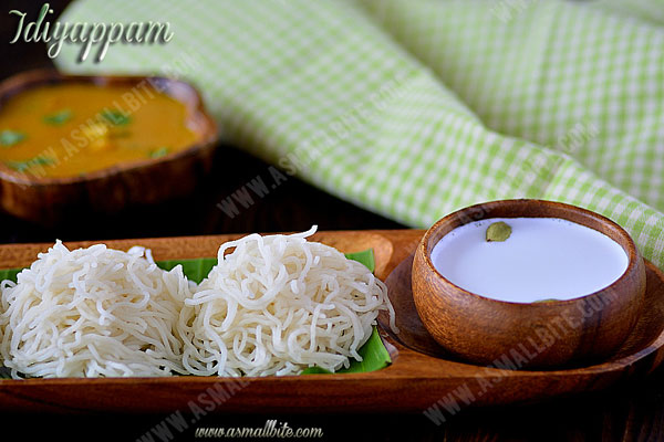 Idiyappam with Rice flour