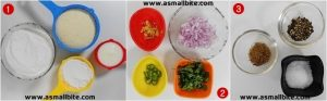 Instant Onion Rava Dosa Recipe steps1