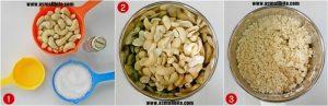 Kaju Katli Recipe Steps1