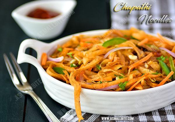 Leftover Chapathi Recipes 1