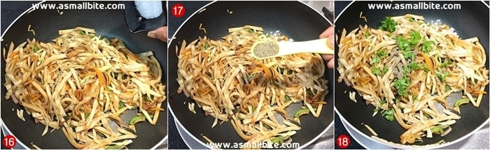 Leftover Chapathi Recipes Steps6